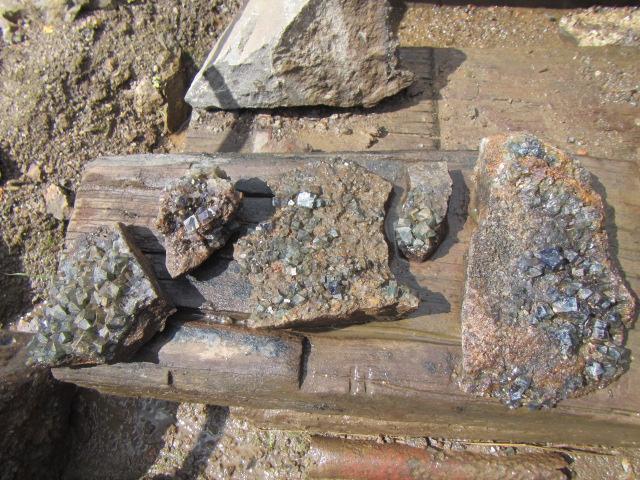 Fluorite, Rogerley Mine, County Durham