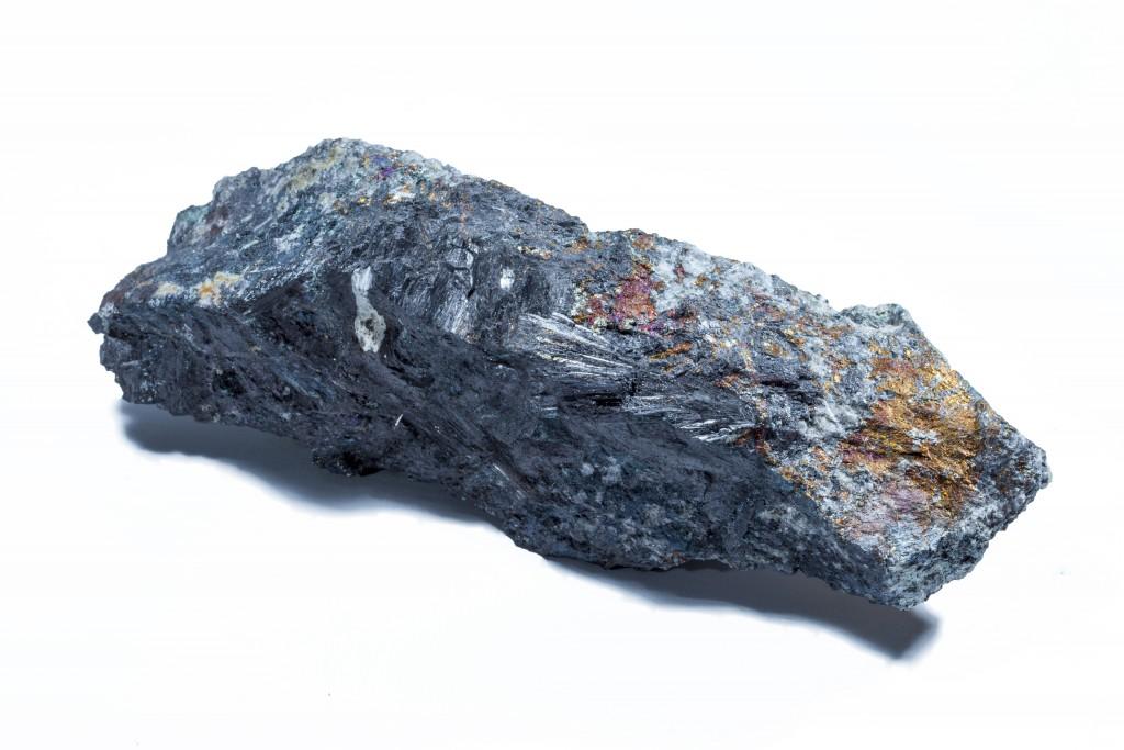 Wolframite, Hingston Down Quarry Cornwall